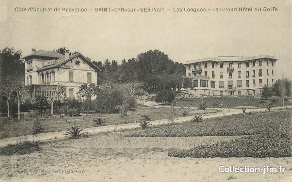 Cpa france 83 saint cyr sur mer les lecques le grand - Office du tourisme saint cyr sur mer ...