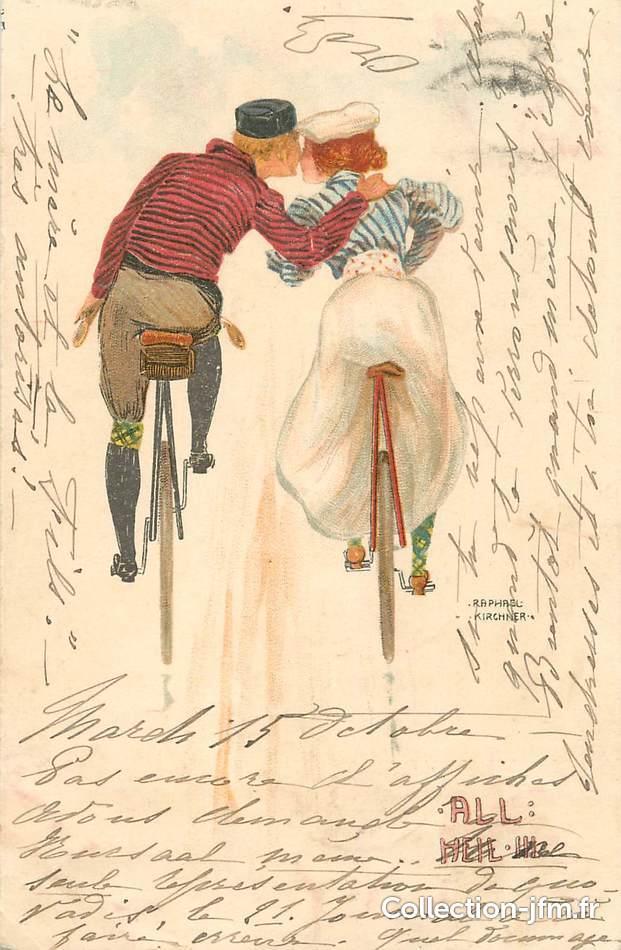 CPA ILLUSTRATEUR RAPHAEL KIRCHNER   illustrateur : kirchner   Ref: 52341    collection-jfm.fr