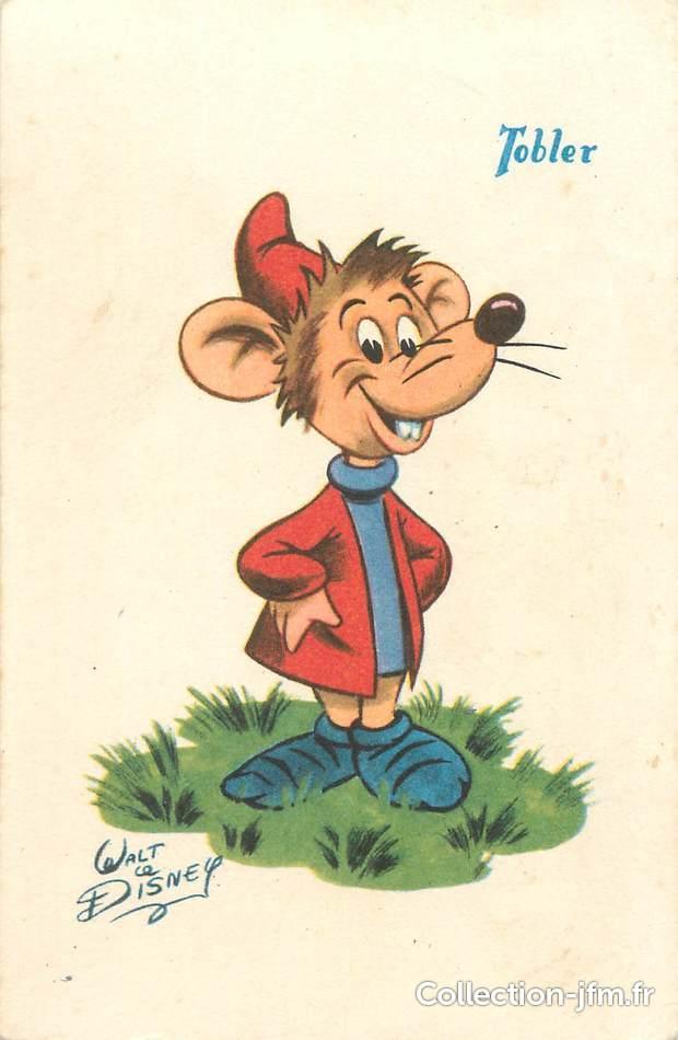 cpa illustrateur disney la petite souris de cendrillon - Souris Cendrillon