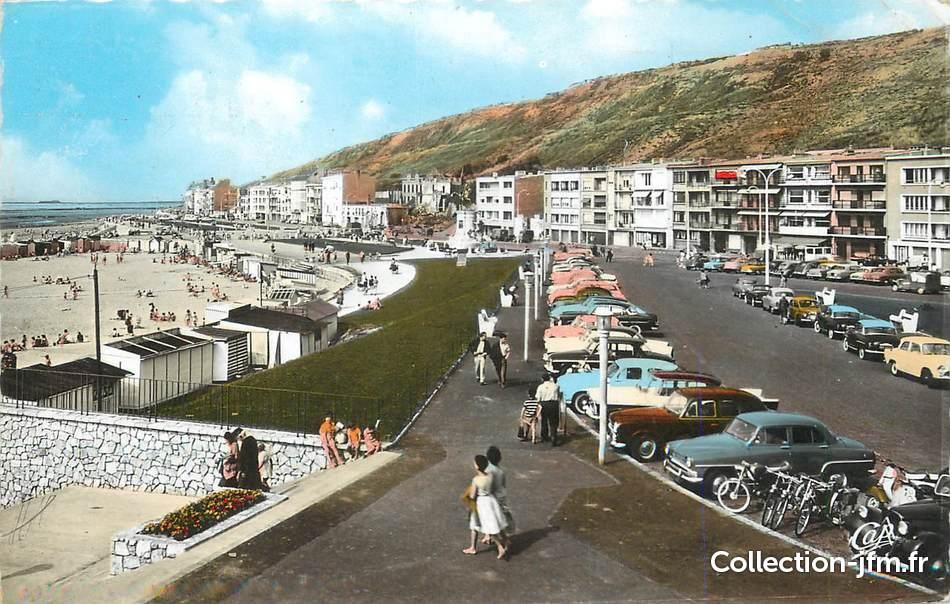 cpsm france 62 boulogne sur mer l 39 esplanade et la plage automobile 62 pas de calais. Black Bedroom Furniture Sets. Home Design Ideas