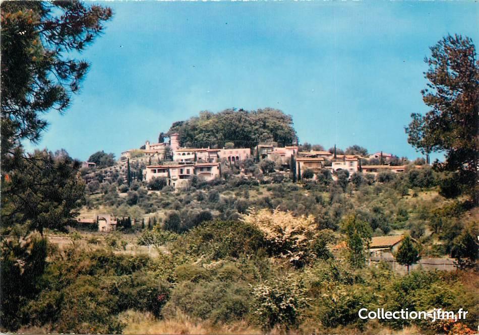 cpsm france 06 mouans sartoux village de castellaras et son ch teau 06 alpes maritimes. Black Bedroom Furniture Sets. Home Design Ideas