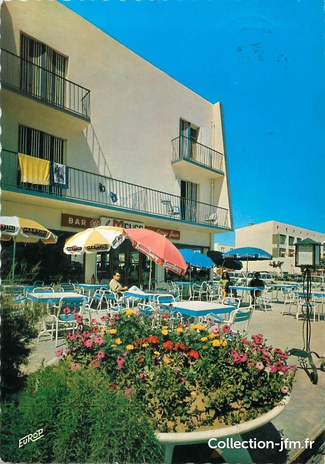 Cpsm france 11 narbonne plage h tel du front de mer for Hotels narbonne