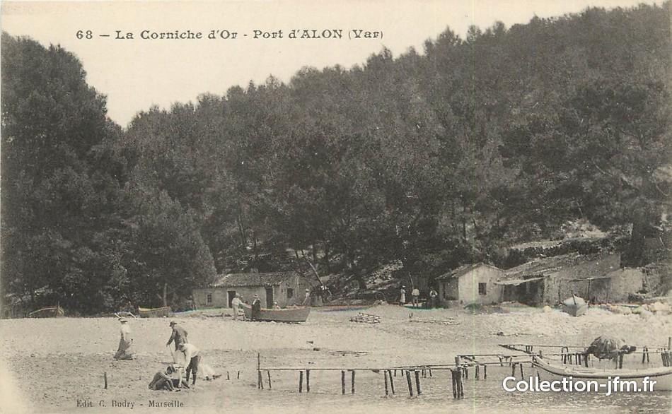Cpa france 83 saint cyr sur mer la corniche d 39 or port d 39 alon 83 var saint cyr sur mer - Camping port d alon saint cyr sur mer ...