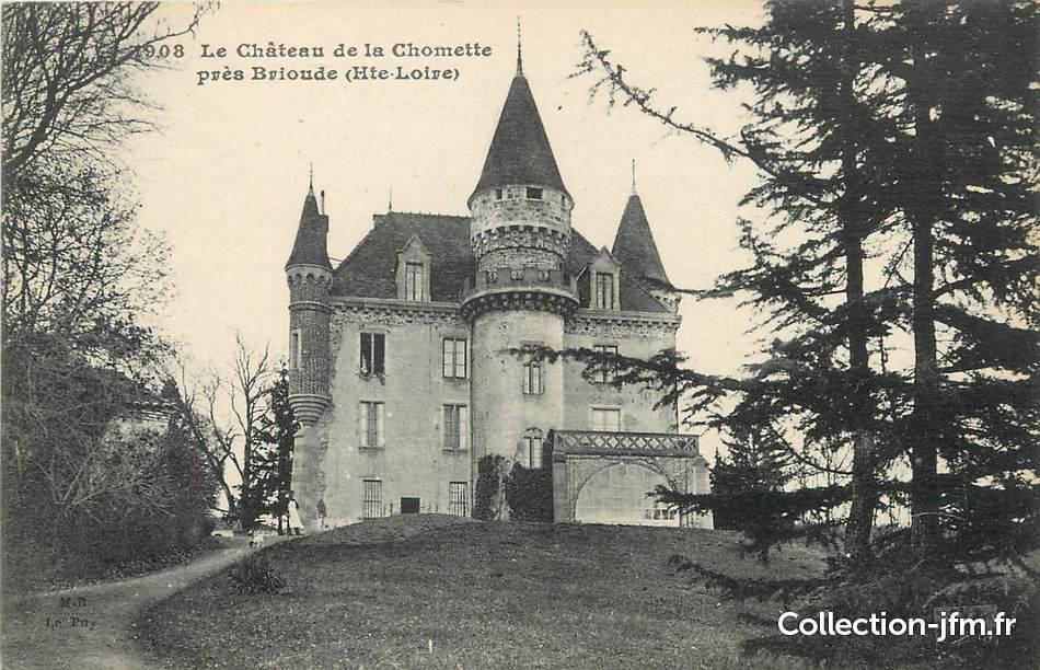 Cpa france 43 le ch teau de la chomette pr s brioude for Haute loire 43