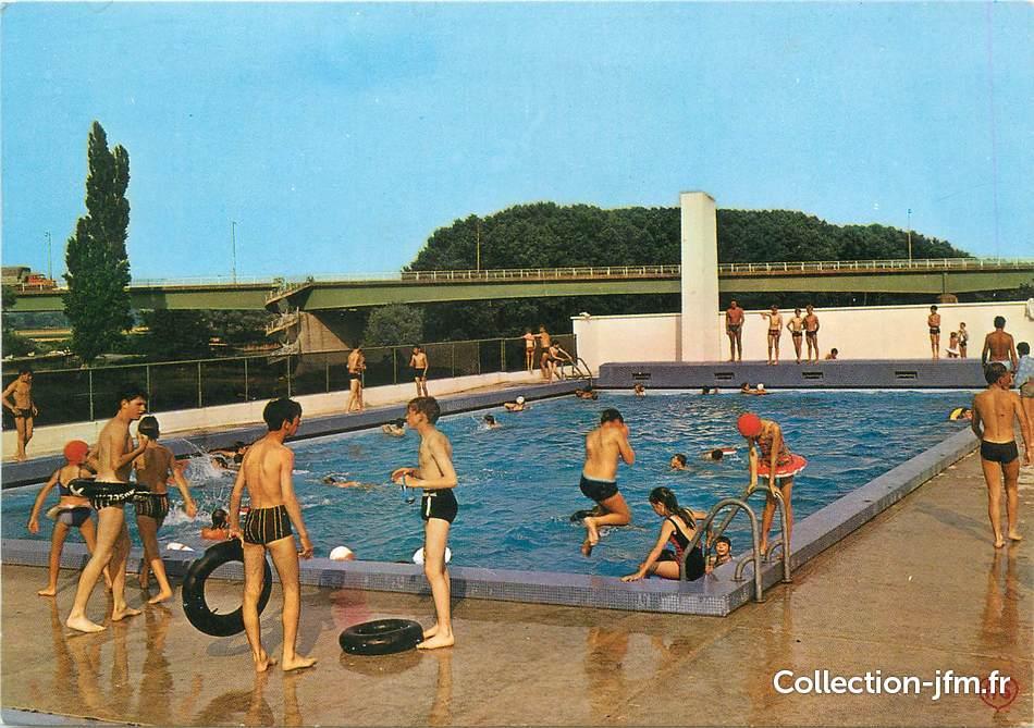 Cpsm france 27 pont de l 39 arche la piscine 27 eure for Piscine sollies pont