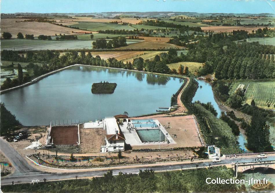 Cpsm france 32 l 39 isle jourdain la piscine 32 gers for Piscine l isle jourdain