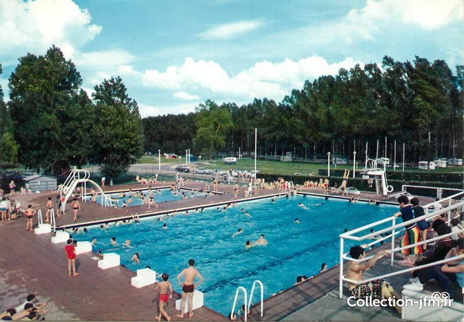 cpsm france 37 amboise l 39 ile d 39 or la piscine et le
