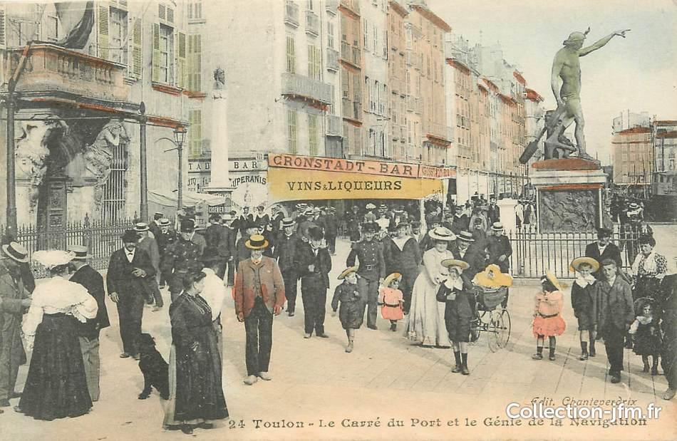 Cpa Toulon Verzamelingen Briefkaarten