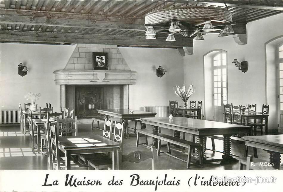 Cpsm france 69 saint jean d 39 ardi res la maison des for Acheter maison beaujolais
