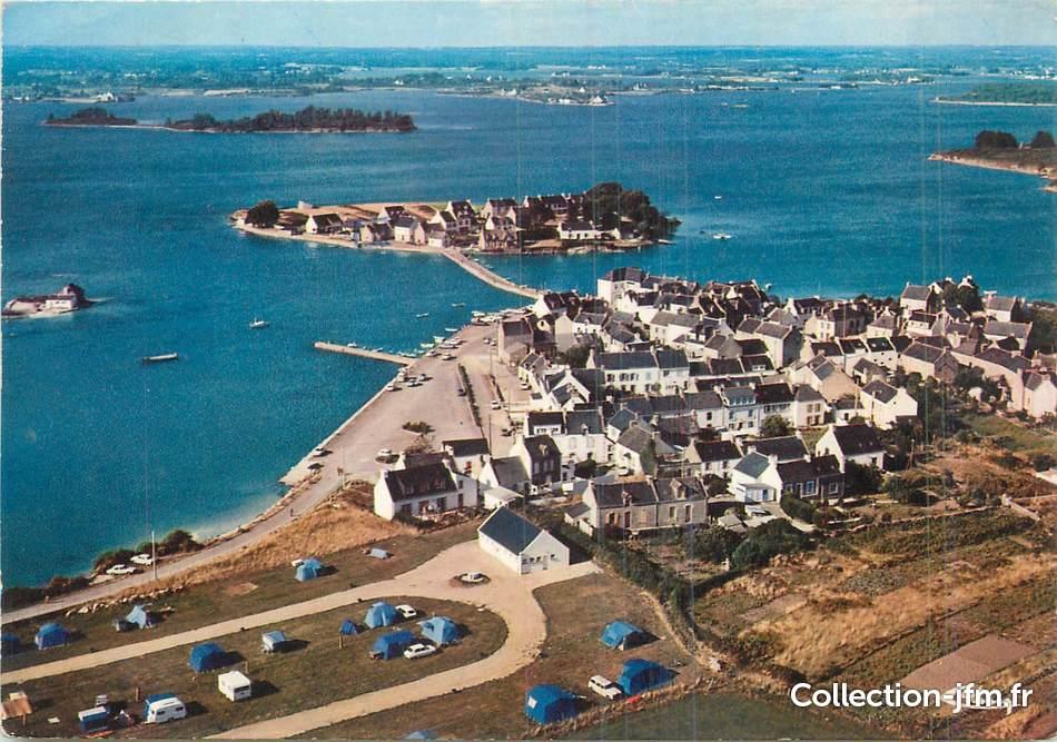 Cpm France 56  U0026quot Belz  Vue A U00e9rienne  Le Port De Saint Cado