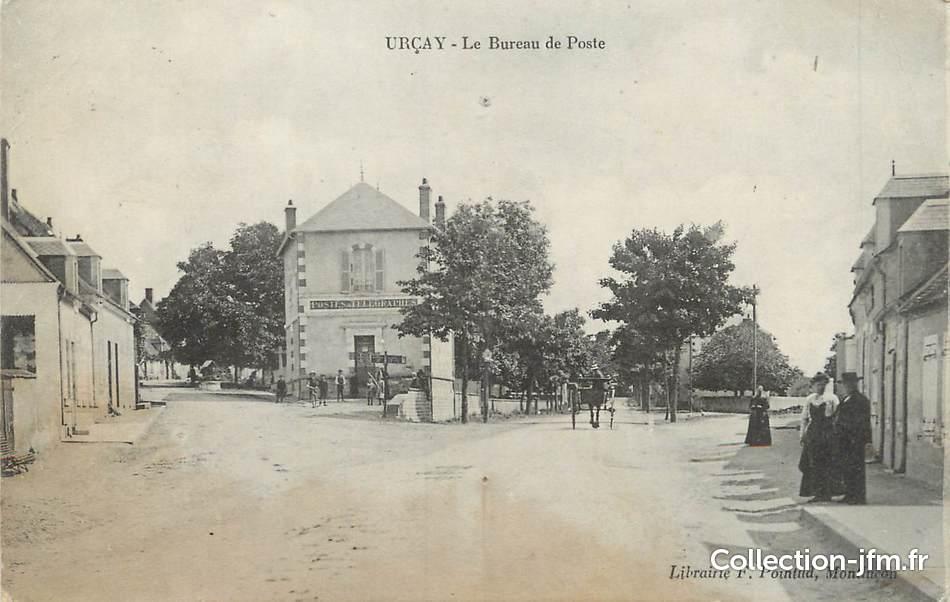 Cpa france 03 ur ay et bureau de poste 03 allier autres communes 03 ref 92843 - Bureau de poste saint etienne du rouvray ...