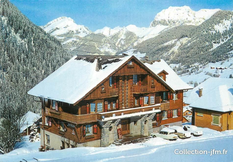 Cpsm France 74 Chatel L Hotel Fleur De Neige 74 Haute Savoie