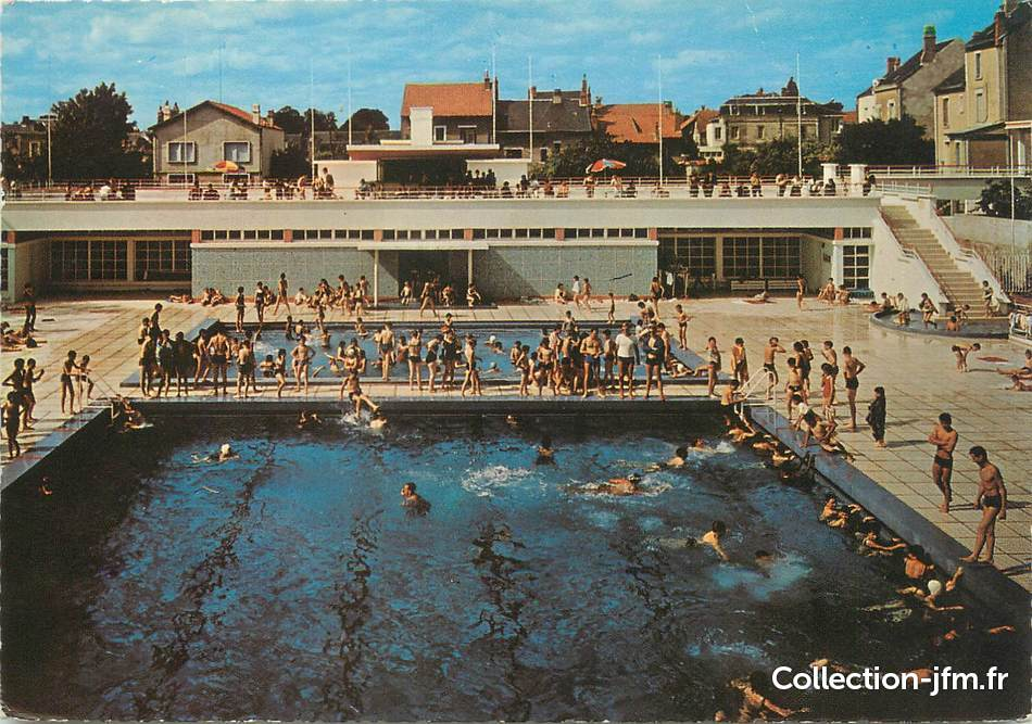 cpsm france 86 chatellerault la piscine municipale