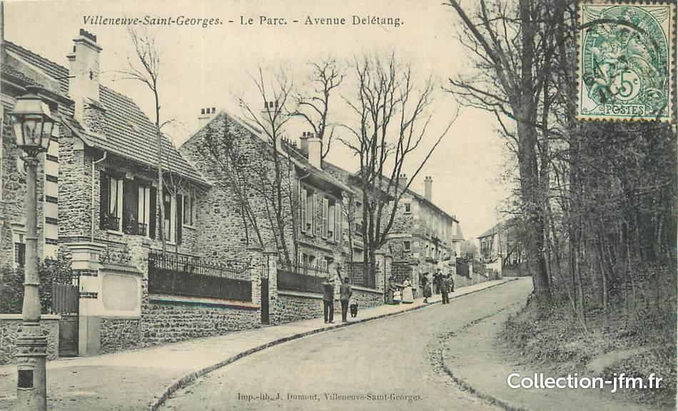 Cpa france 94 villeneuve saint georges le parc av - Garage anatole france villeneuve saint georges ...