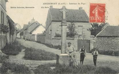 Cpa france 95 archemont int rieur du pays 95 val d 39 oise autres communes 95 ref - Decorateur interieur val d oise ...