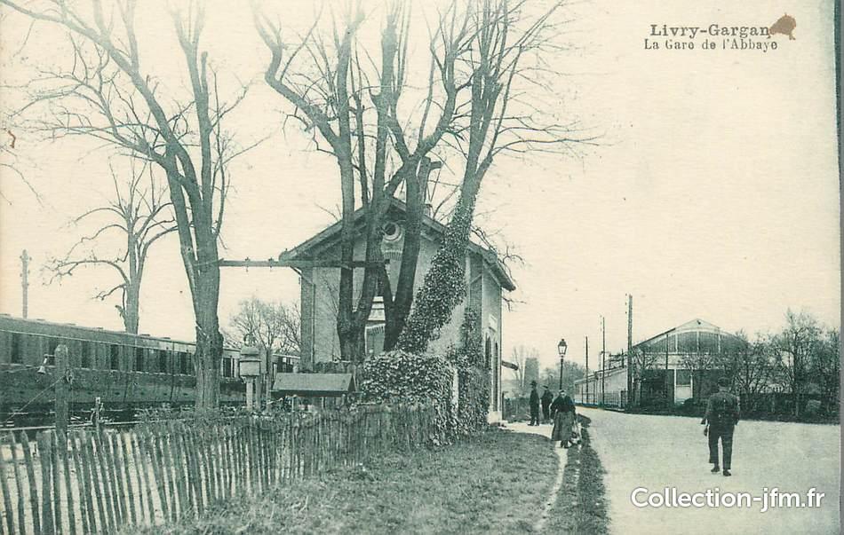 Cpa france 93 livry gargan la gare de l 39 abbaye 93 - Point p livry gargan ...