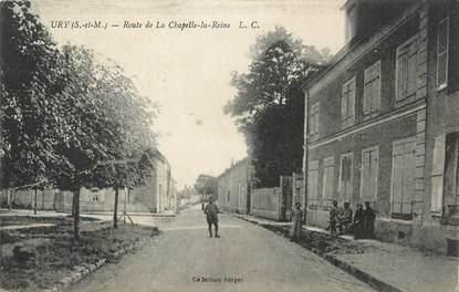 cpa france 77 ury route de la chapelle la reine 77 seine et marne autres communes 77. Black Bedroom Furniture Sets. Home Design Ideas