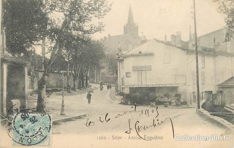 Cpa france 13 salon av eygui res 13 bouches du rhone salon de provence 13 ref - Banque de france salon de provence ...