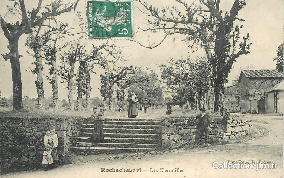 Cpa france 87 rochechouart les charmilles 87 haute for 87 haute vienne france