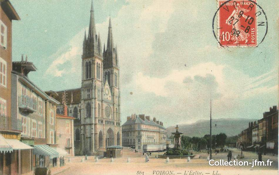 Voiron France  City pictures : CPA FRANCE 38