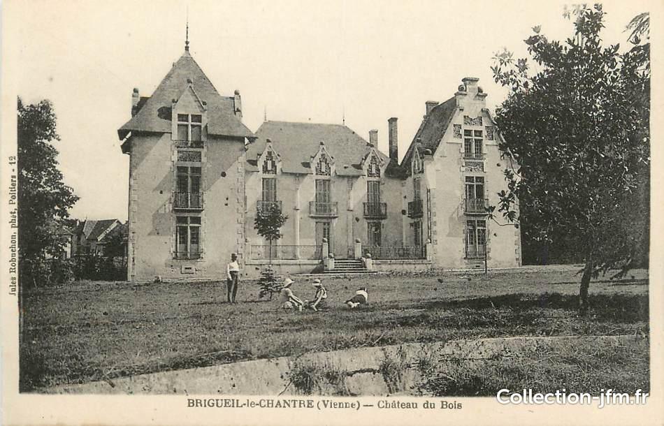 """Le Chateau Du Bois -  CPA FRANCE 86""""Brigueil le Chantre, Ch u00e2teau du Bois"""" 86 vienne autres communes (86) Ref"""