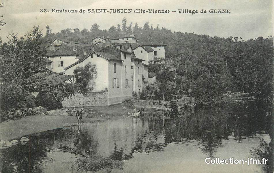 Cpa france 87 environs de st junien village de glane for 87 haute vienne france