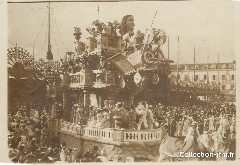 photo originale theme la joconde le carnaval de nice themes