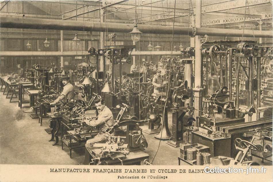 Cpa france 42 st etienne manufacture fran aise d 39 armes et cycles - La manufacture saint etienne ...
