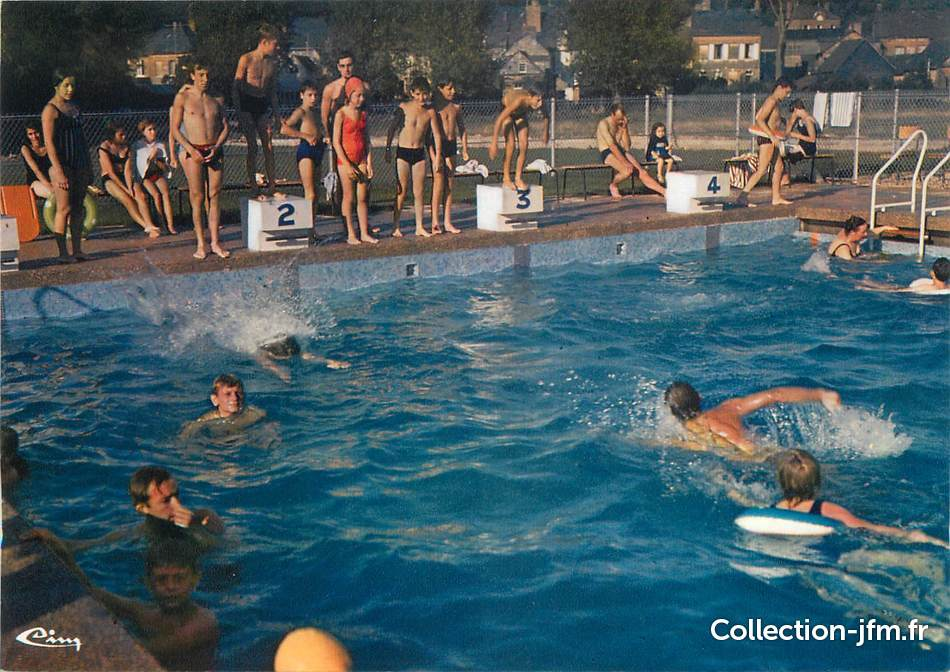 Cpsm france 76 val de saane la piscine 76 seine for Piscine seine maritime