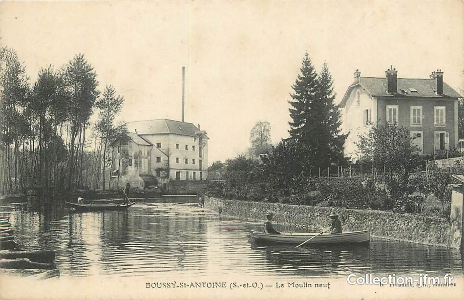Cpa france 91 boussy st antoine le moulin vert 91 for Boussy saint antoine piscine
