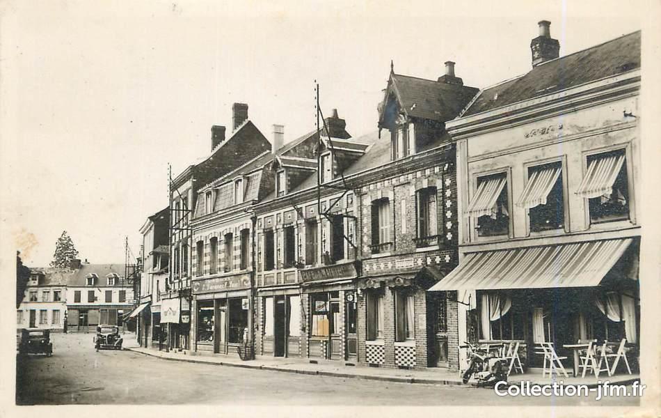 Cpsm france 76 buchy rue des halles 76 seine maritime autre - Lapeyre rue des halles ...