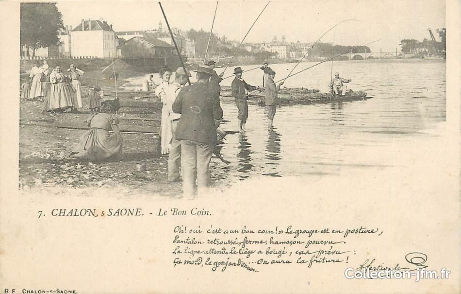 Cpa France 71 Chalon Sur Saône Le Bon Coin 71 Saône