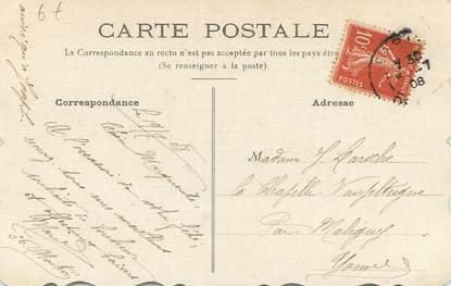 Cpa Carte Peinte Dessin Original Heureuse Fete Petit Oiseau