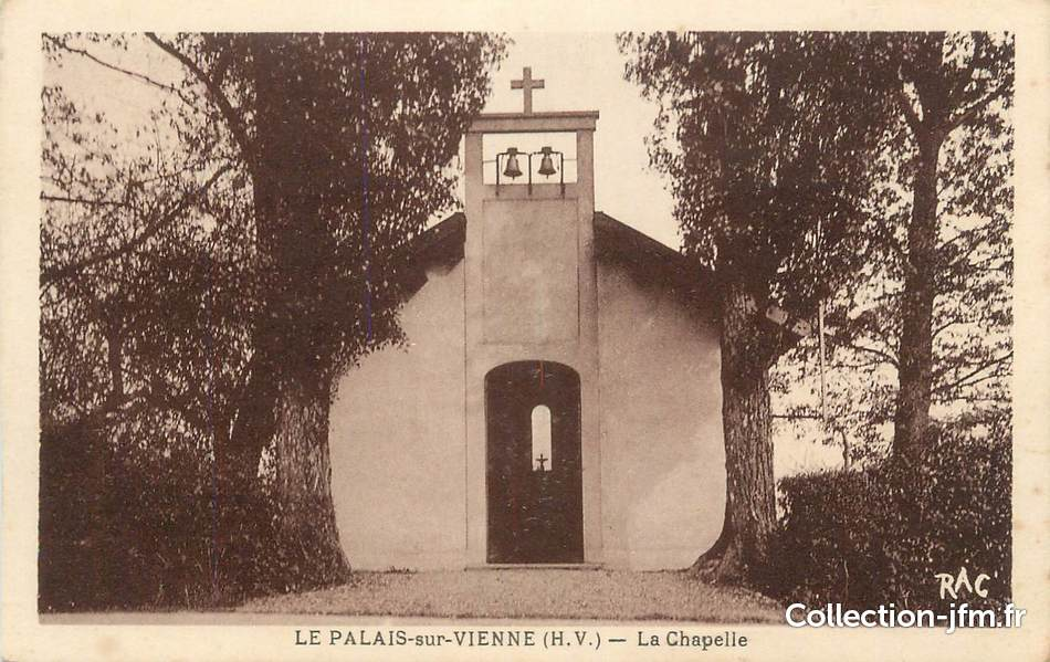 Cpa france 87 le palais sur vienne la chapelle 87 for 87 haute vienne france