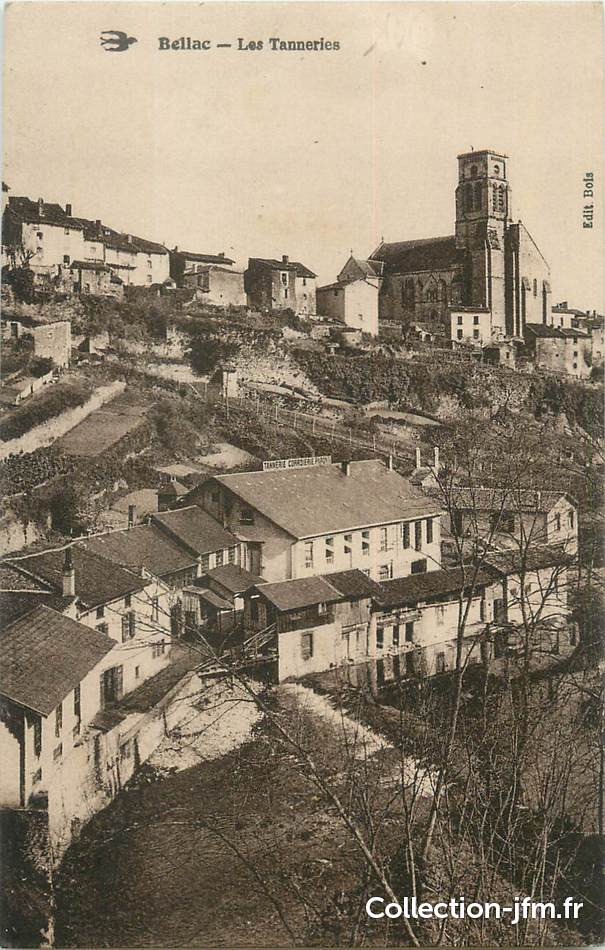 Cpa france 87 bellac les tanneries 87 haute vienne for 87 haute vienne france
