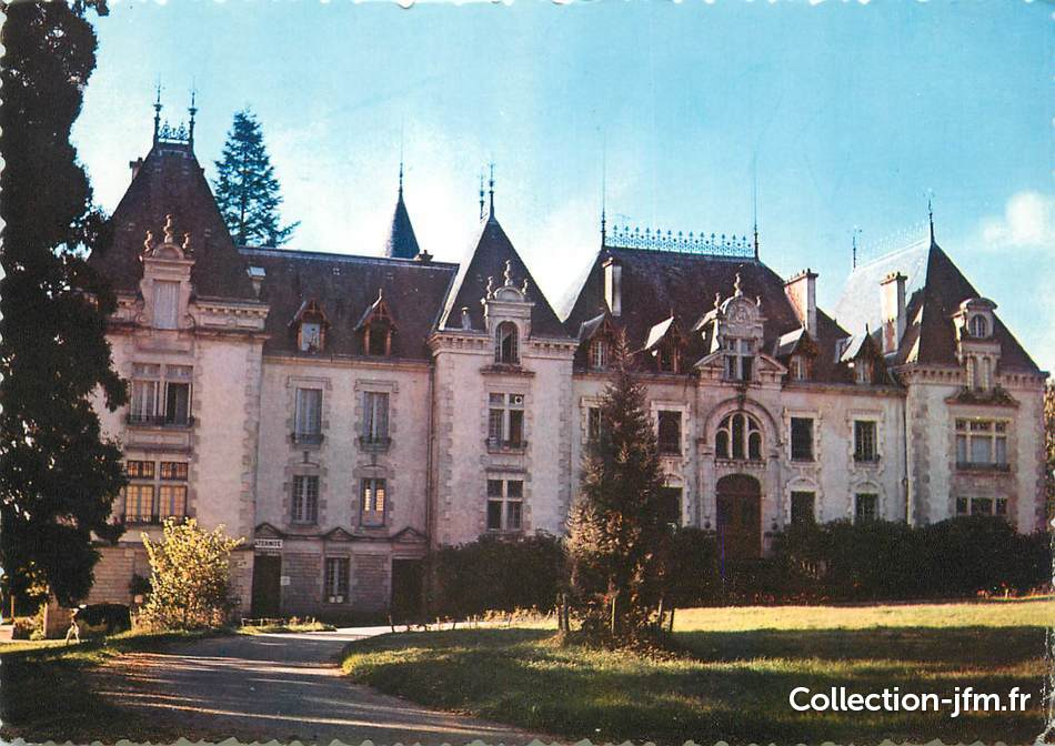 Cpsm france 87 neuvic entier le ch teau 87 haute for 87 haute vienne france