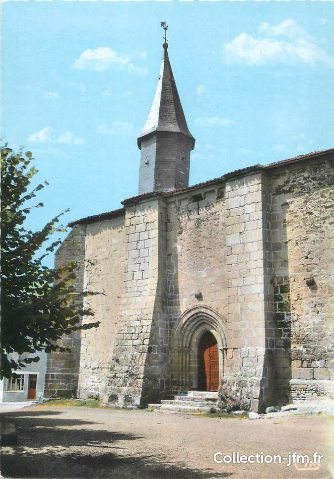 Cpsm france 87 les billanges l 39 glise 87 haute vienne for 87 haute vienne france
