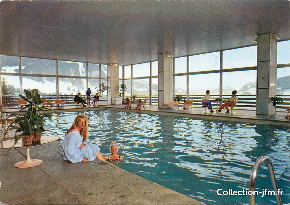 Cpsm france 74 meg ve la piscine du mont d 39 arbois 74 for Construction piscine haute savoie