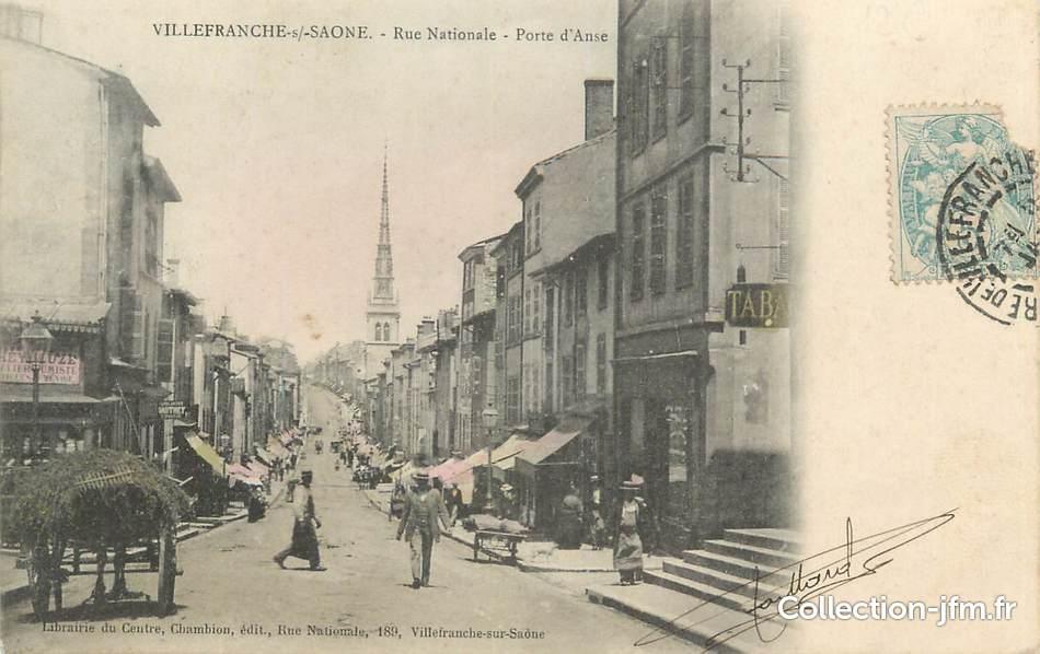 rue nationale villefranche sur saone