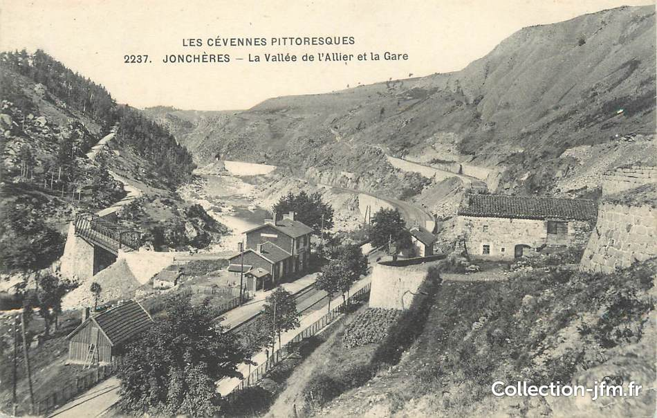 Cpa france 43 jonch res la vall e de l 39 allier et la for Haute loire 43