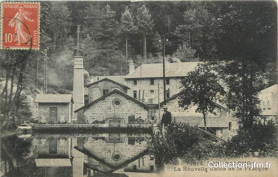 43 Salomon Pont La De Fracque Nouvelle Cpa France Usine PzOwx5B