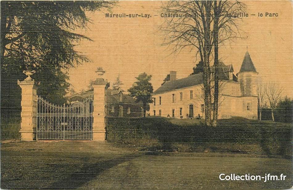 cpa france 85 mareuil sur lay chateau 85 vendee autres communes 85 ref 188672. Black Bedroom Furniture Sets. Home Design Ideas