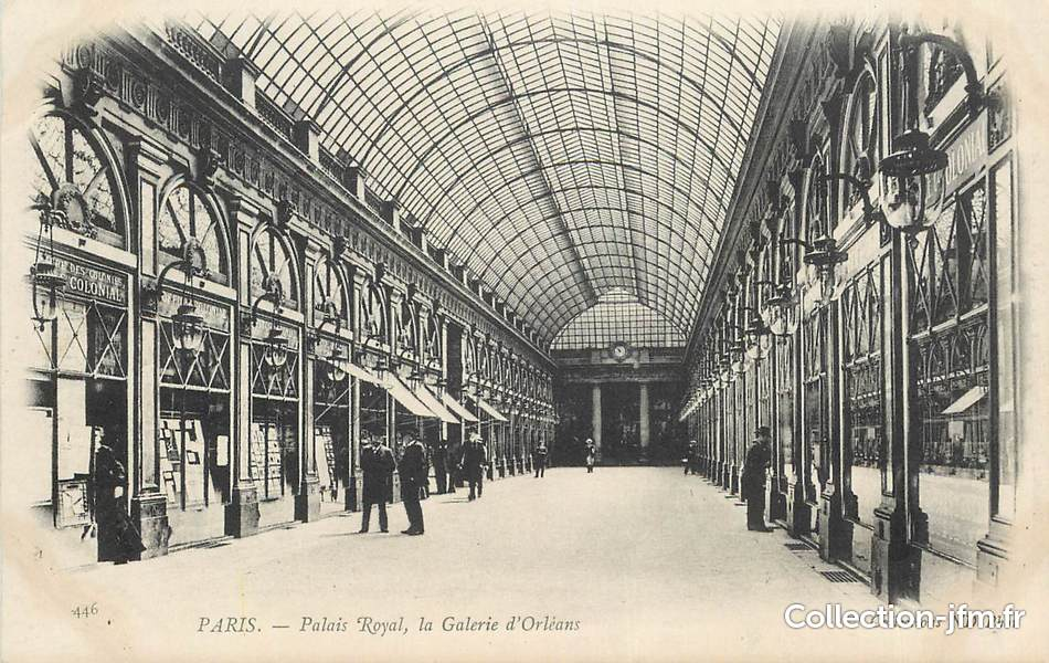Cpa france 75001 paris palais royal la galerie d 39 orl ans 75 paris 1 er arrondissement - Galerie le garage orleans ...