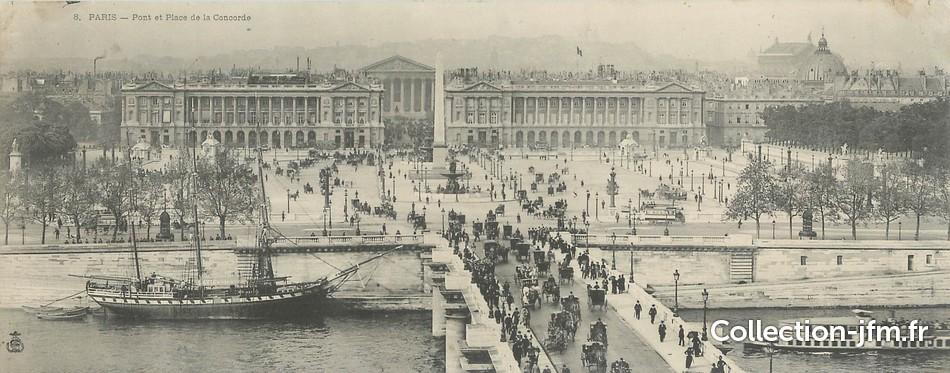 Cpa panoramique france 75001 paris pont et place de la for Jardin d asie 78 rue baudricourt 75013 paris
