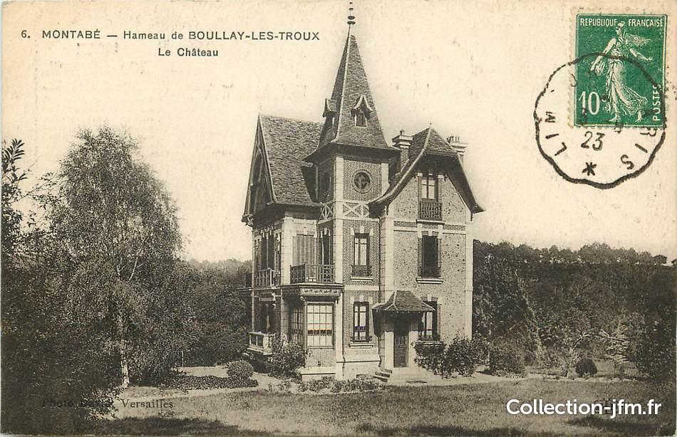 Cpa france 78 montab hameau de boullay les troux le for 78 en france