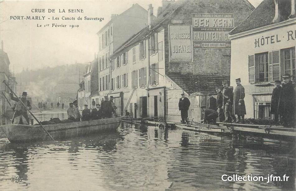 Cpa france 78 pont marly les canots de sauvetage - Point p port marly ...