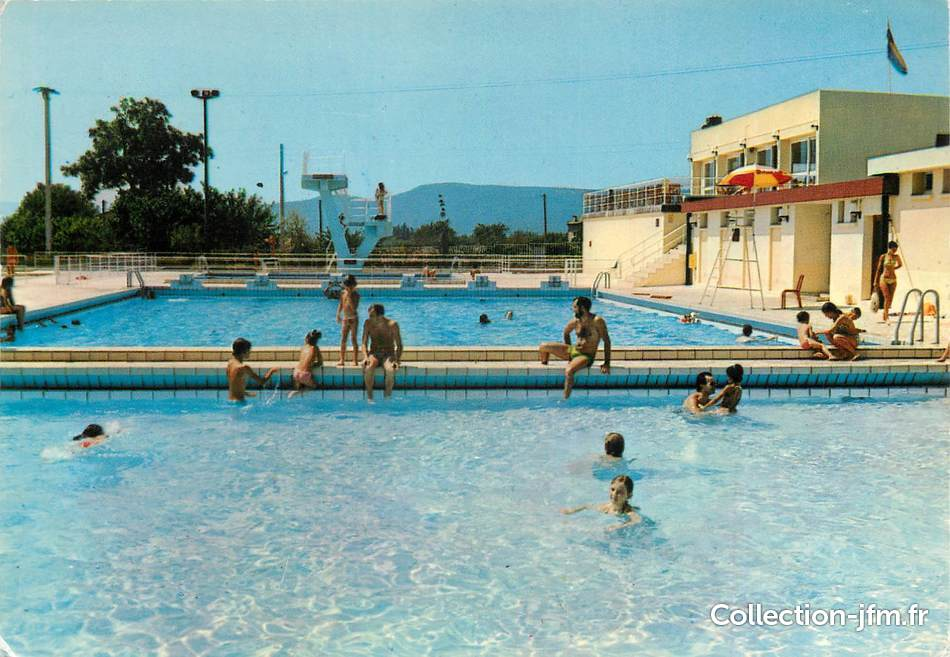 Cpsm france 83 le luc en provence la belle piscine for France piscine