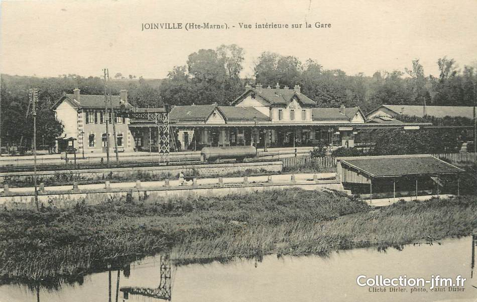 Cpa france 52 joinville vue int rieure de la gare for Joinville 52