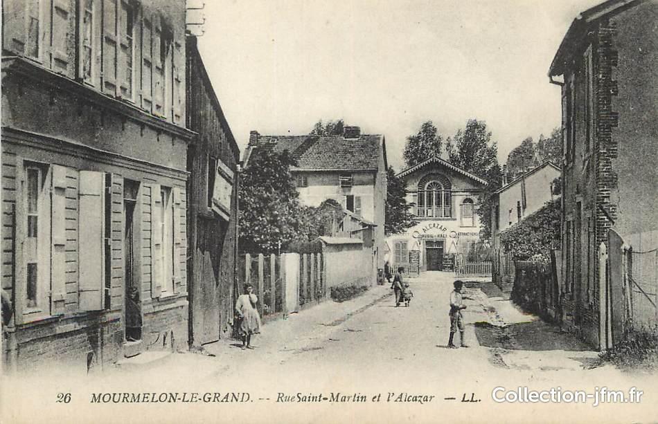cpa france 51 mourmelon le grand rue saint martin et l