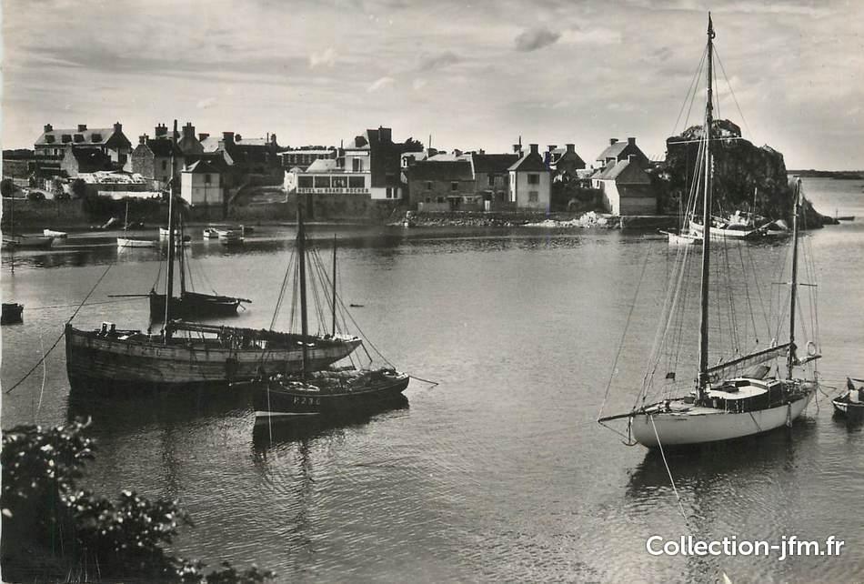 Cpsm france 22 loguivy de la mer un coin du port et l 39 h tel du grand rocher 22 cotes d - Port de peche cote d armor ...